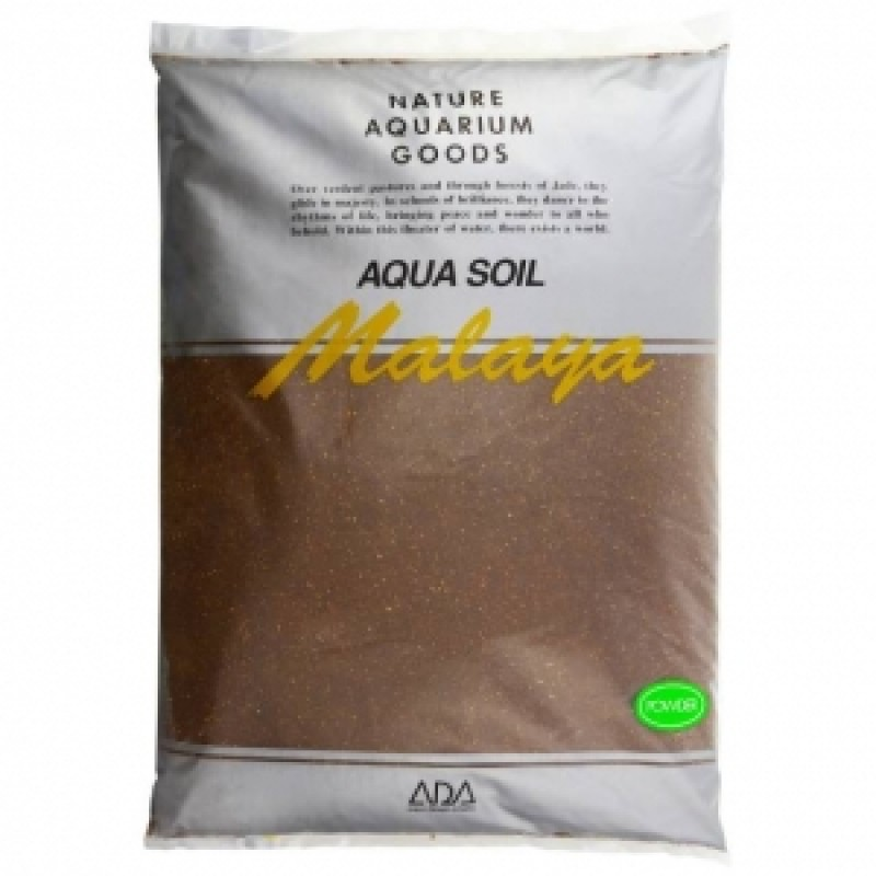 ADA Aqua Soil Powder Malaya, пакет 3 л
