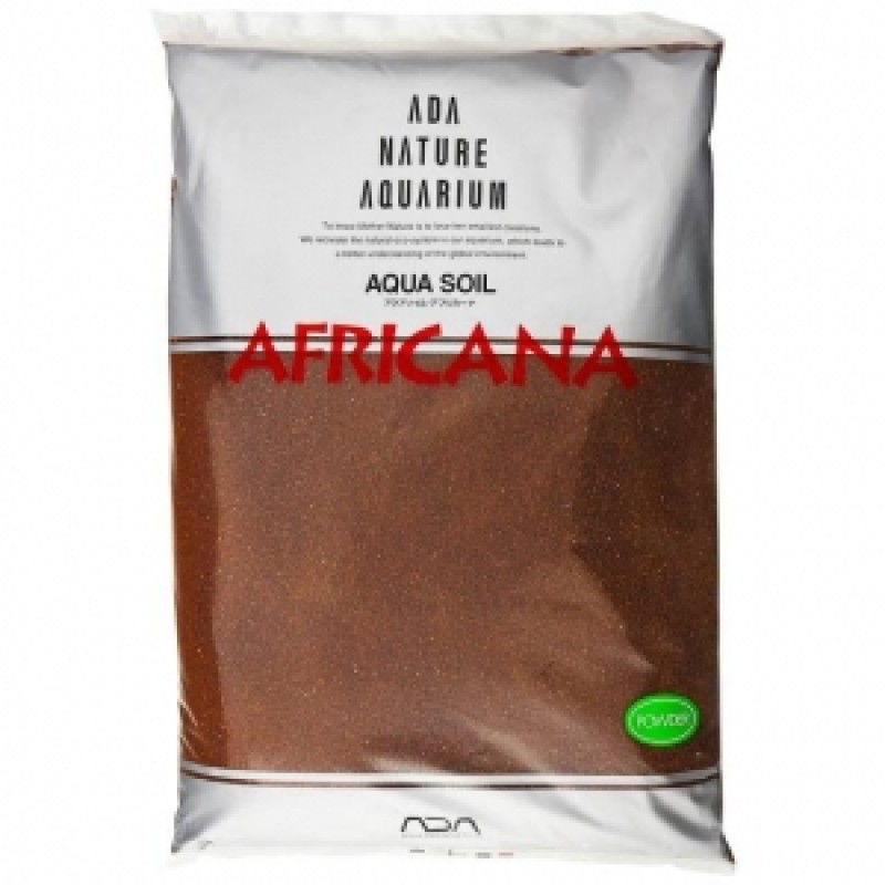 ADA Aqua Soil Powder Africana, пакет 3 л