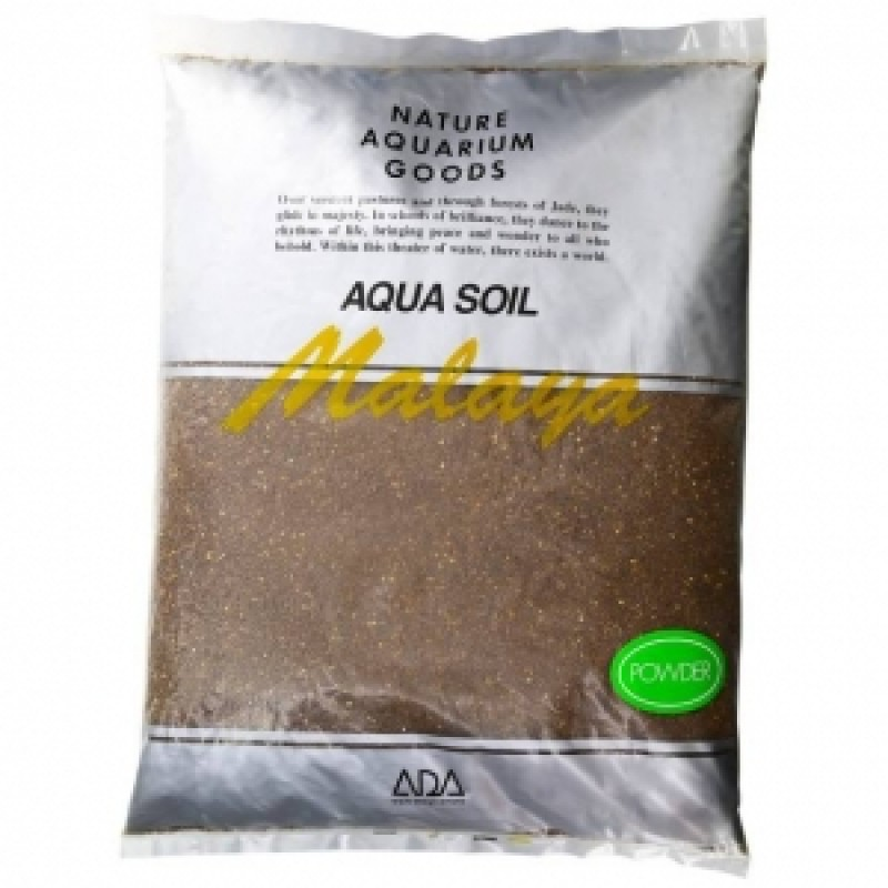 ADA Aqua Soil Powder Amazonia, пакет 9 л