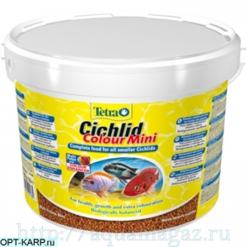 TETRA Cichlid Colour Mini 10L 3900g ведро